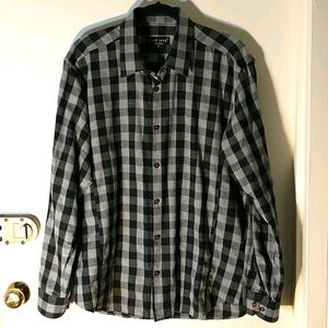 Jared Lang Men's Button Down Flannel Shirt